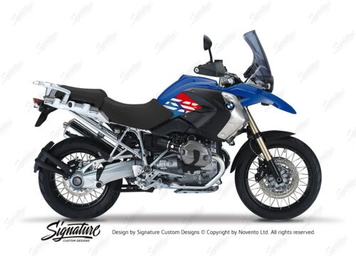 BKIT 3923 BMW R1200GS 2008 2012 Bright Blue Style Anniversary LE M Sport Stickers