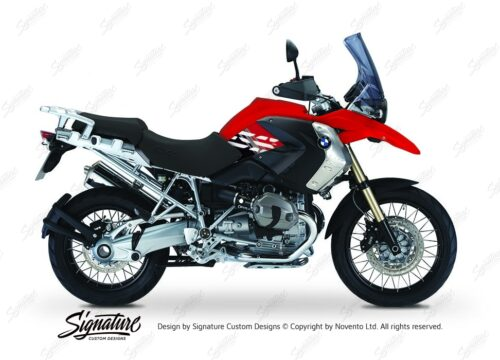 BKIT 3925 BMW R1200GS 2008 2012 Magna Red Style Anniversary LE Red Stickers