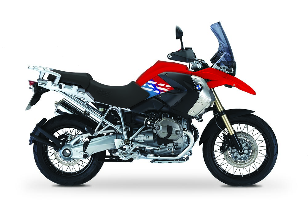 BKIT 3926 BMW R1200GS 2008 2012 Magna Red Style Anniversary LE M Sport Stickers 1