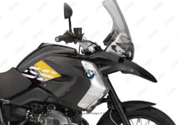 BKIT 3930 BMW R1200GS 2008 2012 Triple Black Style Anniversary LE Yellow Stickers 02