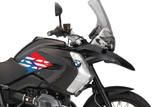 BKIT 3932 BMW R1200GS 2008 2012 Triple Black Style Anniversary LE M Sport Stickers 02