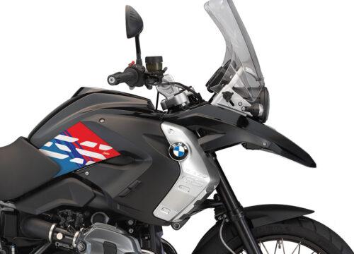 BKIT 3932 BMW R1200GS 2008 2012 Triple Black Style Anniversary LE M Sport Stickers 02