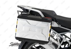 BSTI 3877 BMW Vario Side Panniers Black Yellow Reflective Stripes 02