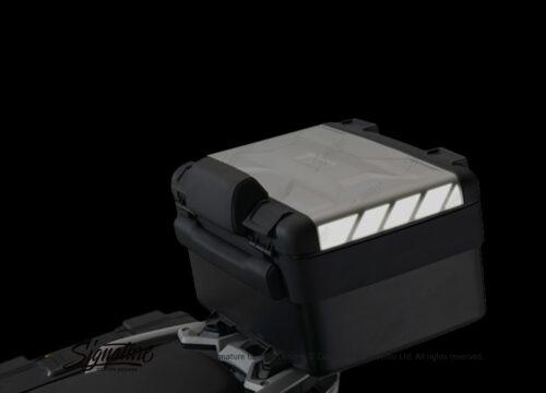 BSTI 3882 BMW Vario Top Box Black White Reflective Stripes 02