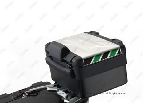 BSTI 3883 BMW Vario Top Box Black Green Reflective Stripes