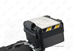 BSTI 3884 BMW Vario Top Box Black Yellow Reflective Stripes 01