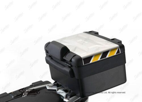 BSTI 3884 BMW Vario Top Box Black Yellow Reflective Stripes 01