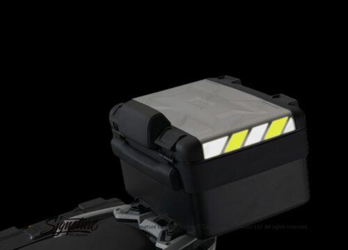 BSTI 3884 BMW Vario Top Box Black Yellow Reflective Stripes 02