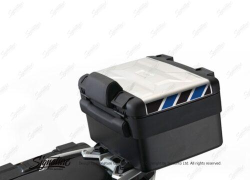 BSTI 3885 BMW Vario Top Box Black Blue Reflective Stripes 01