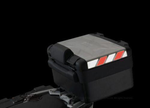 BSTI 3887 BMW Vario Top Box Black Red Reflective Stripes 02