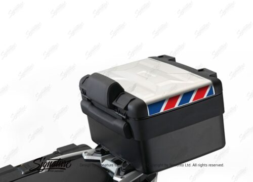 BSTI 3888 BMW Vario Top Box Blue Red Reflective Stripes 01
