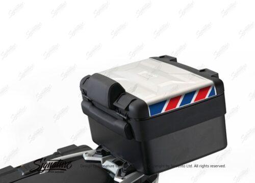 BSTI 3888 BMW Vario Top Box Blue Red Reflective Stripes 01