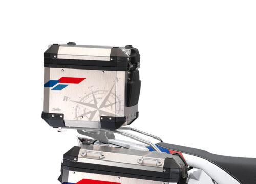BSTI 3935 BMW Alluminium Top Box Compass V2 Stickers Kit 02