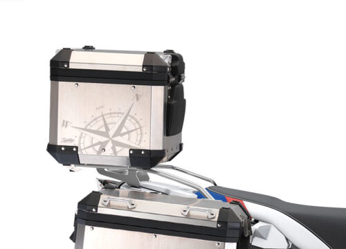 BSTI 3936 BMW Alluminium Top Box Compass Stickers Kit 02