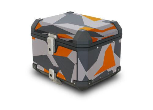 SMSTI 3993 SW Motech Trax TopBox Orange Camo 01