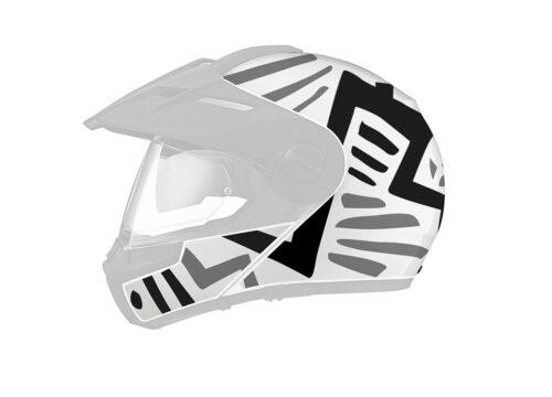 Schuberth E1 Pro Massai Black Grey