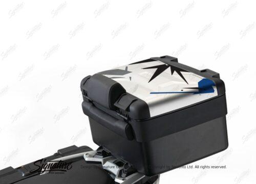BKIT 4004 Vario Top Box Safari Spike Blue Black Grey Stickers Kit