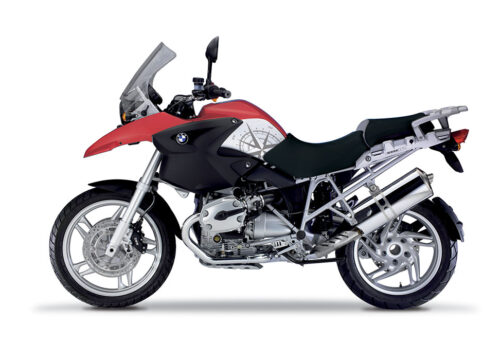 BSTI 3979 BMW R1200GS 2004 2007 Rock Red Compass Series Stickers