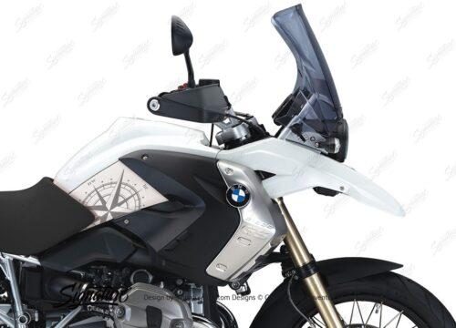 BSTI 3981 BMW R1200GS 2008 2012 Alpine White Compass Series Stickers 02