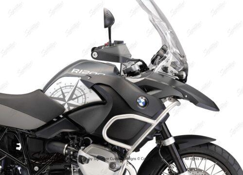 BSTI 3986 BMW R1200GS 2008 2013 Charcoal Grey Compass Series 02
