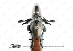 BKIT 4029 BMW R nineT Scrambler Full Triple Stripes Stickers brown 02
