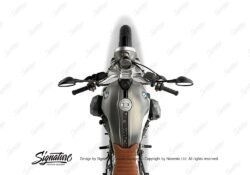 BKIT 4031 BMW R nineT Scrambler Full Stripes Stickers Black 02