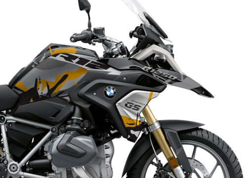 BKIT 4043 BMW R1250GS Black Storm Safari Yellow Stickers 02 1