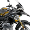 BKIT 4043 BMW R1250GS Black Storm Safari Yellow Stickers 02