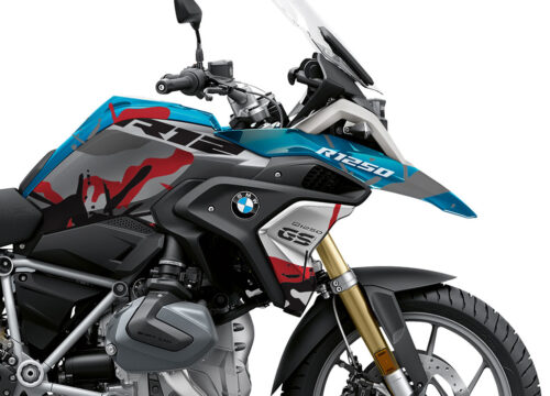 BKIT 4048 BMW R1250GS Cosmic Blue Safari Red Stickers 02 1