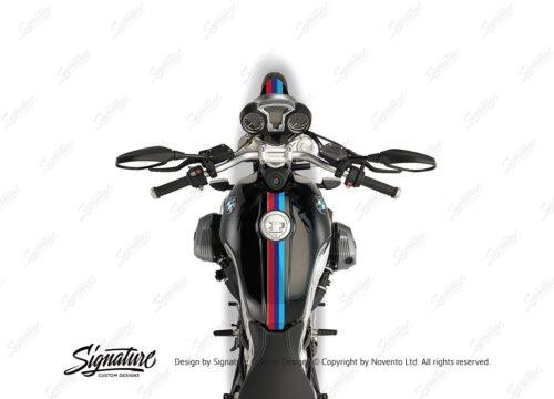 BKIT 4113 BMW R nineT Full M Sport Stripes Stickers 02