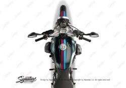 BKIT 4114 BMW R nineT Pure Full M Sport Stripes Stickers 02