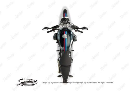 BKIT 4114 BMW R nineT Pure Full M Sport Stripes Stickers