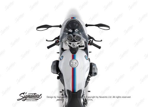 BKIT 4116 BMW R nineT Racer Full M Sport Stripes Stickers 02