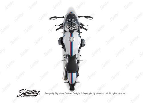 BKIT 4116 BMW R nineT Racer Full M Sport Stripes Stickers