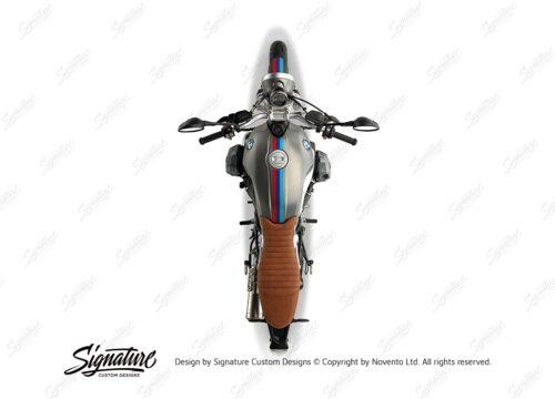 BKIT 4116 BMW R nineT Scrambler Full M Sport Stripes Stickers