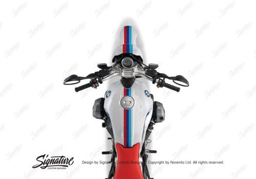 BKIT 4117 BMW R nineT Urban GS Full M Sport Stripes Stickers 02