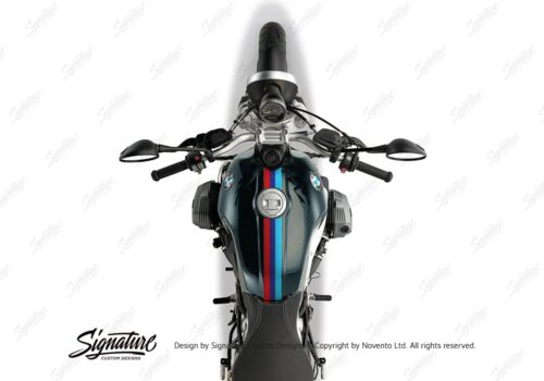 BKIT 4119 BMW R nineT Pure M Sport Stripes Stickers 02