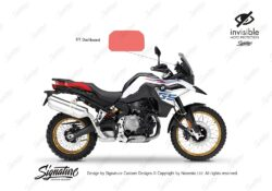 BPRF 4208 F850GS TFT Dashboard Protective Film 01