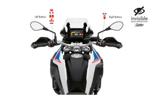 BPRF 4209 F850GS Buttons Protective Film 02