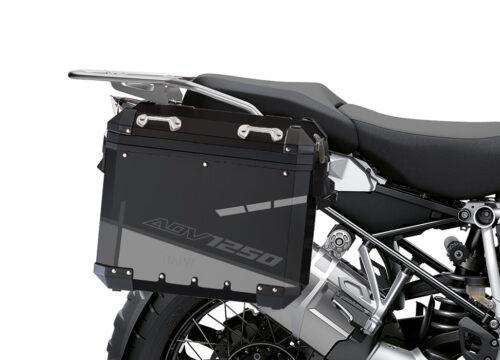 BSTI 4098 BMW Aluminum Panniers Vector Grey Silver 02