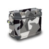 TPRF 4213 Triumph Expedition Alluminium Side Panniers 37lt M90 Grey Camo Full Wrap