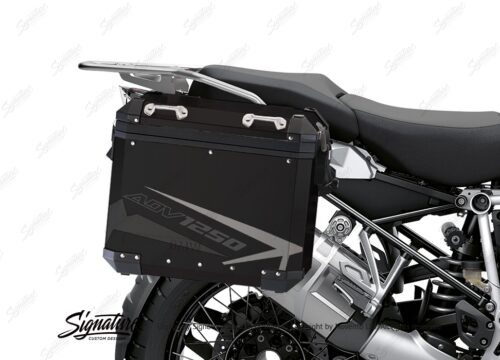 BSTI 4084 BMW Aluminum Panniers Spike Grey Variations 02