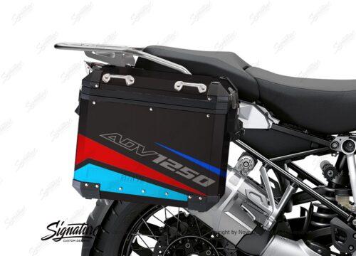 BSTI 4112 BMW Aluminum Panniers Vivo Red Blue Light Blue 02