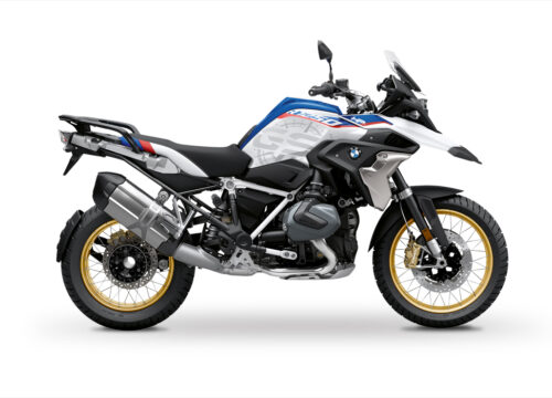 BKIT 3773 BMW R1250GS Style HP Compass V2 Grey Side Tank Stickers Kit 01