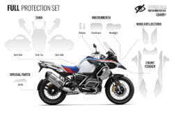 BMW R1250GS Adventure Style Rallye Full Paint Protective Film