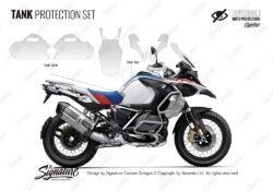 BMW R1250GS Adventure Style Rallye Tank Protective Film