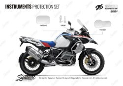 BMW R1250GS Adventure Style Rallye Instruments Protective Film