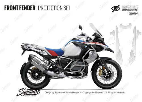 BMW R1250GS Adventure Style Rallye Front Fender Protective Film