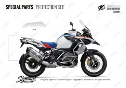 BMW R1250GS Adventure Style Rallye Parts Protective Film