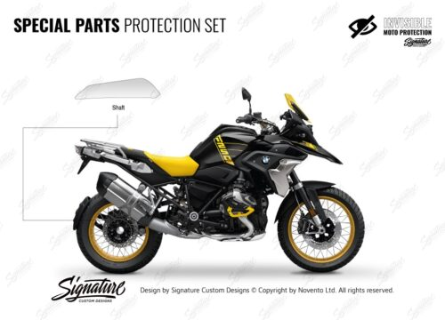 BMW R1250GS 40 Years GS Special Parts Protective Film